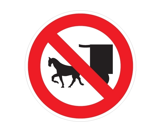 NO CIRCULAR (tracción animal)